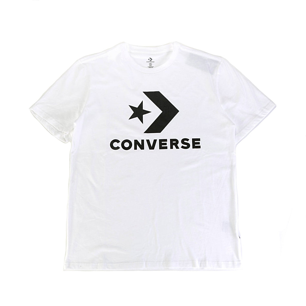 Star Chevron SS Tee - White