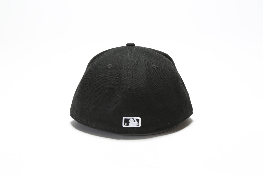 New York Yankees Fitted - Black/White