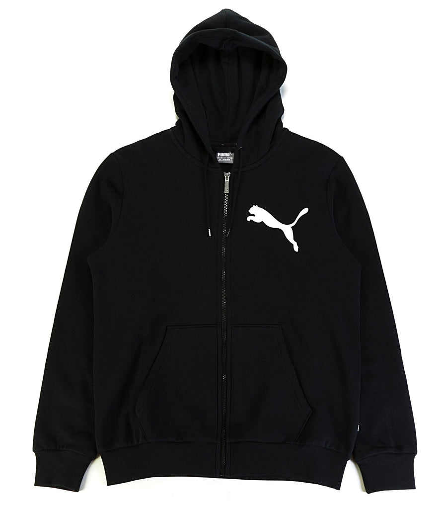 Big Logo Full Zip Hoody - Black