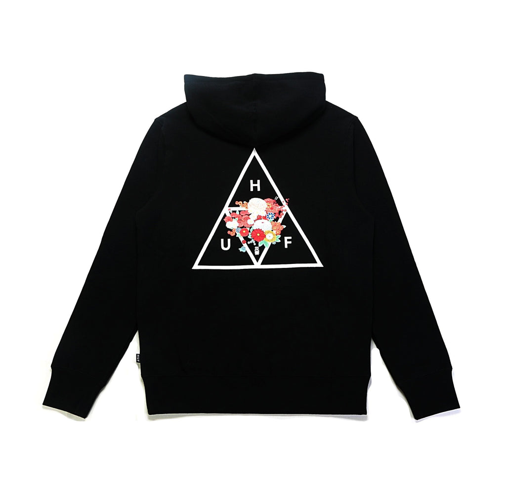 Memorial Triangle PO Hoodie - Black