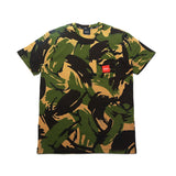 Woven Label Pocket S/S Tee - Deep Olive
