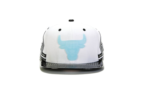 NBA Kevlar Shark Tooth Snapback - (Chicago Bulls) Black/Gold