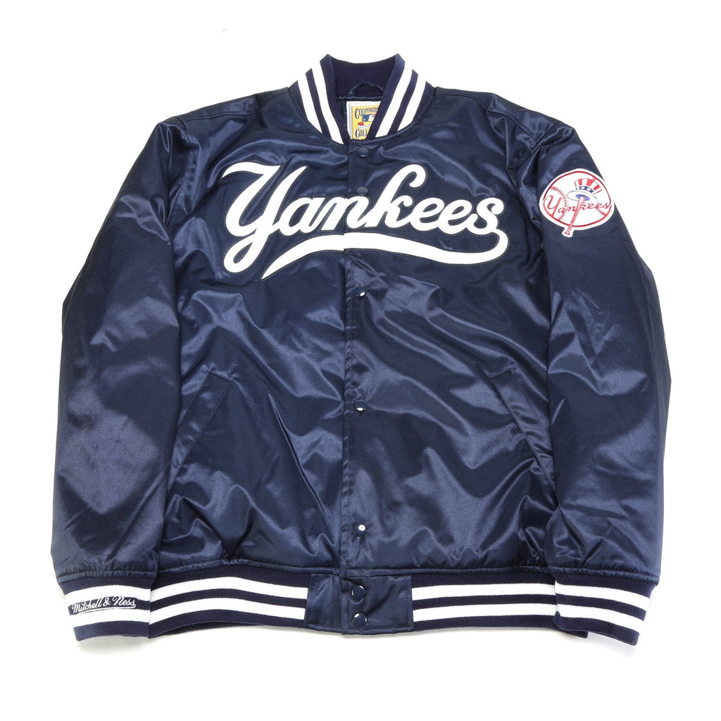 Authentic MLB Satin Jacket 1999 Yankees - Navy