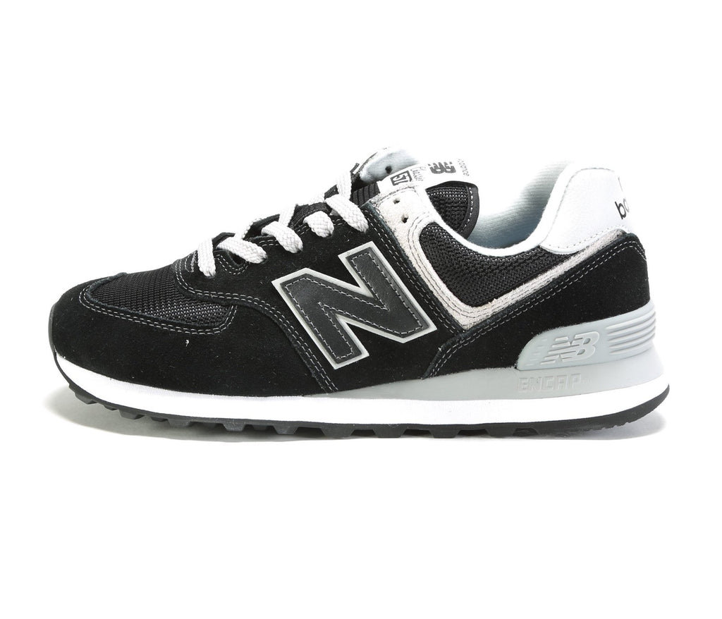 Women's 574 Core (B) - Black/White