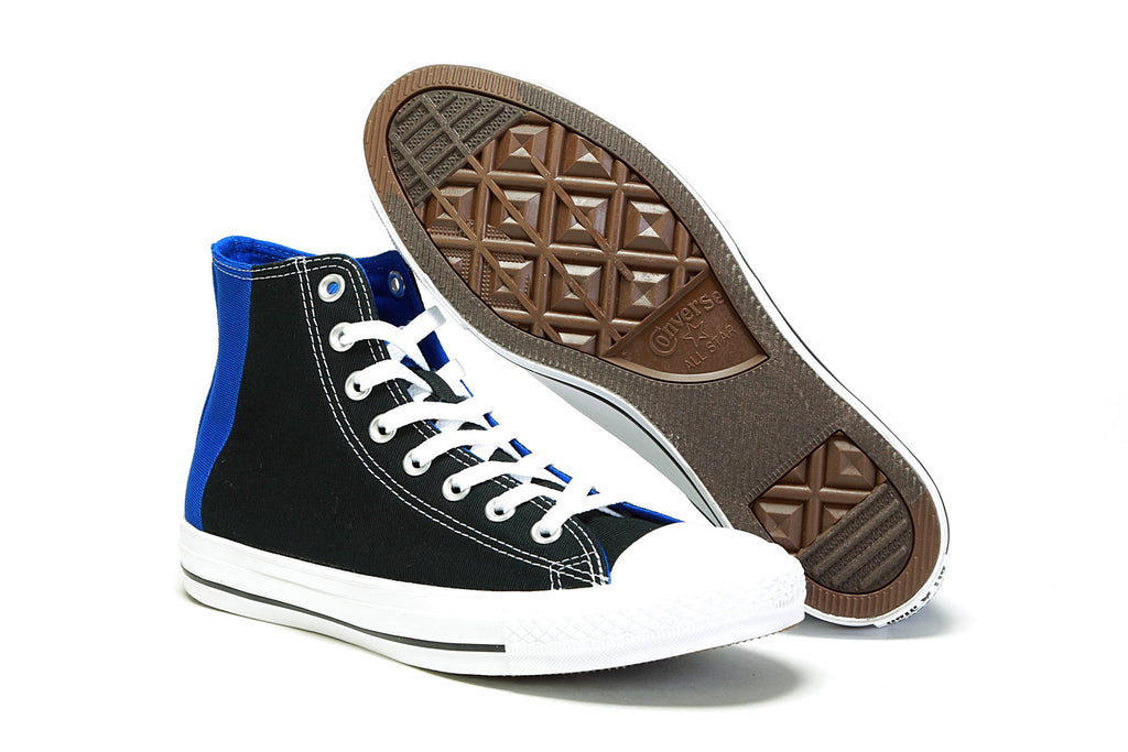 CTAS Hi - (Patch Me Through) Black/Blue/White