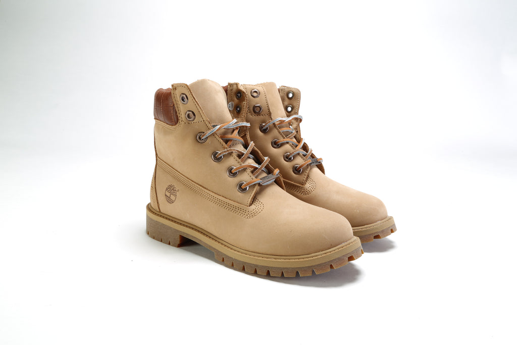 "Junior's 6"" Premium Boot (M) - Medium Beige"