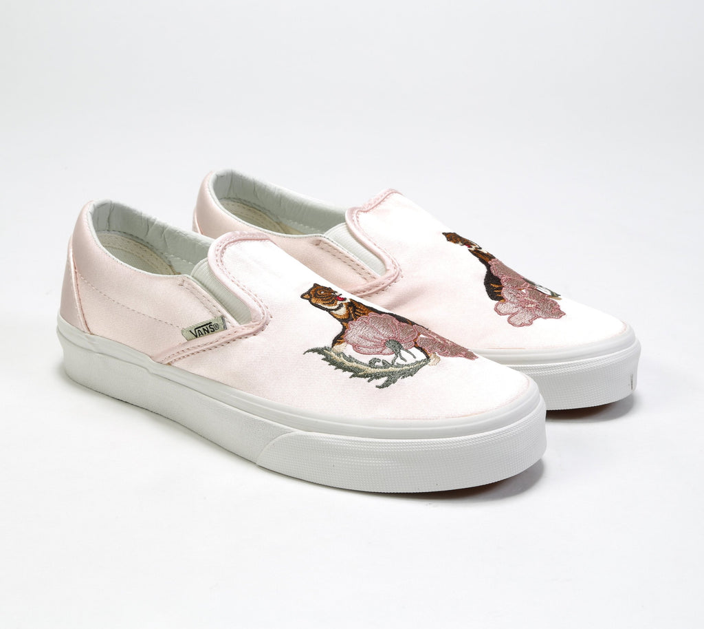 Classic Slip-On DX - (California Souvenir) Rose Dust/Blanc De Blanc