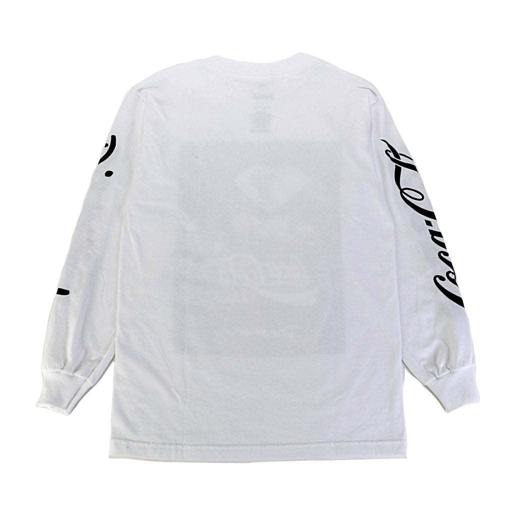 Coca Cola Photo LS Tee - White