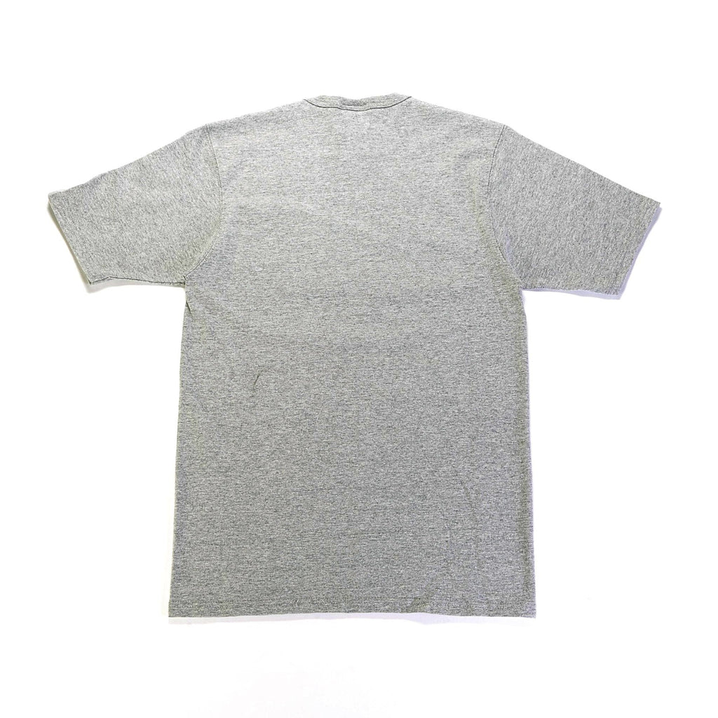Reverse Weave Tee - (C Patch) Oxford Grey