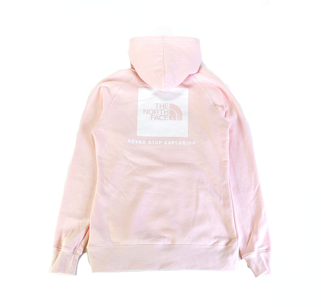 Women's Red Box PO Hoodie - Pink Salt/White