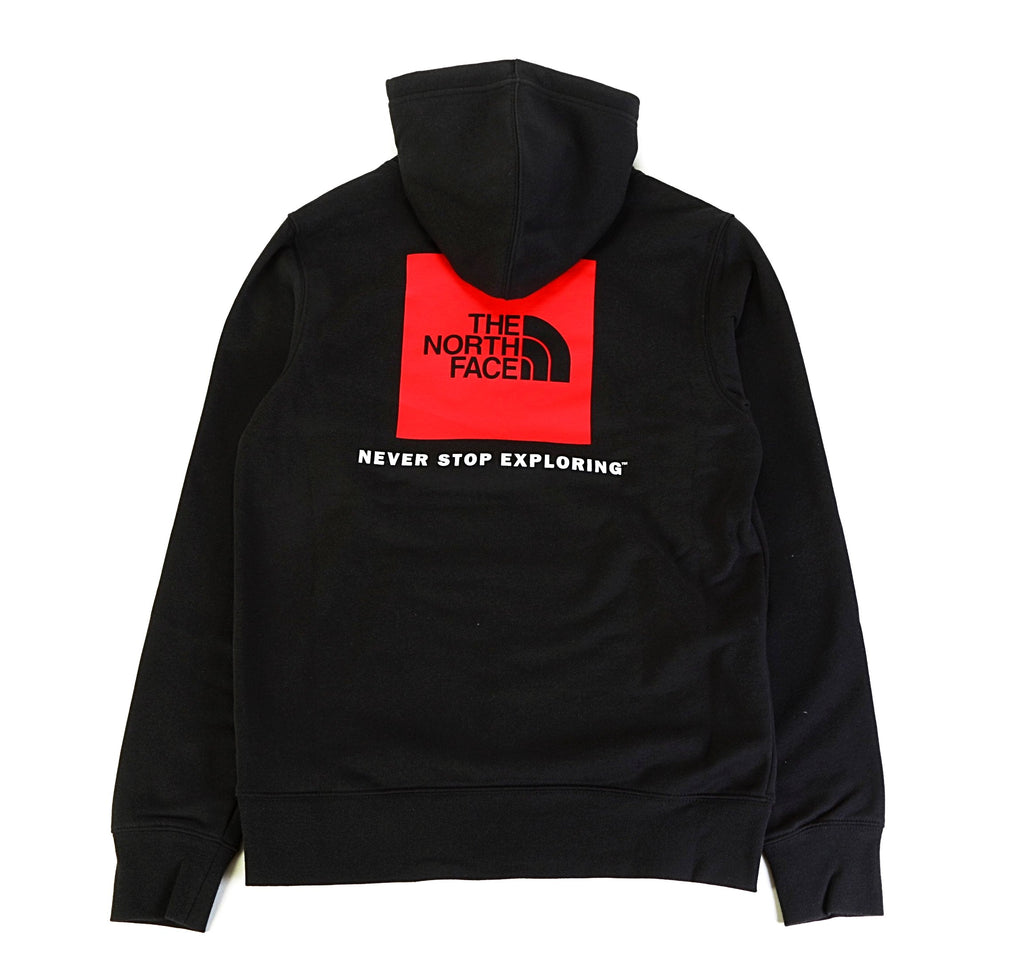 Red Box PO Hoodie - Black/Red