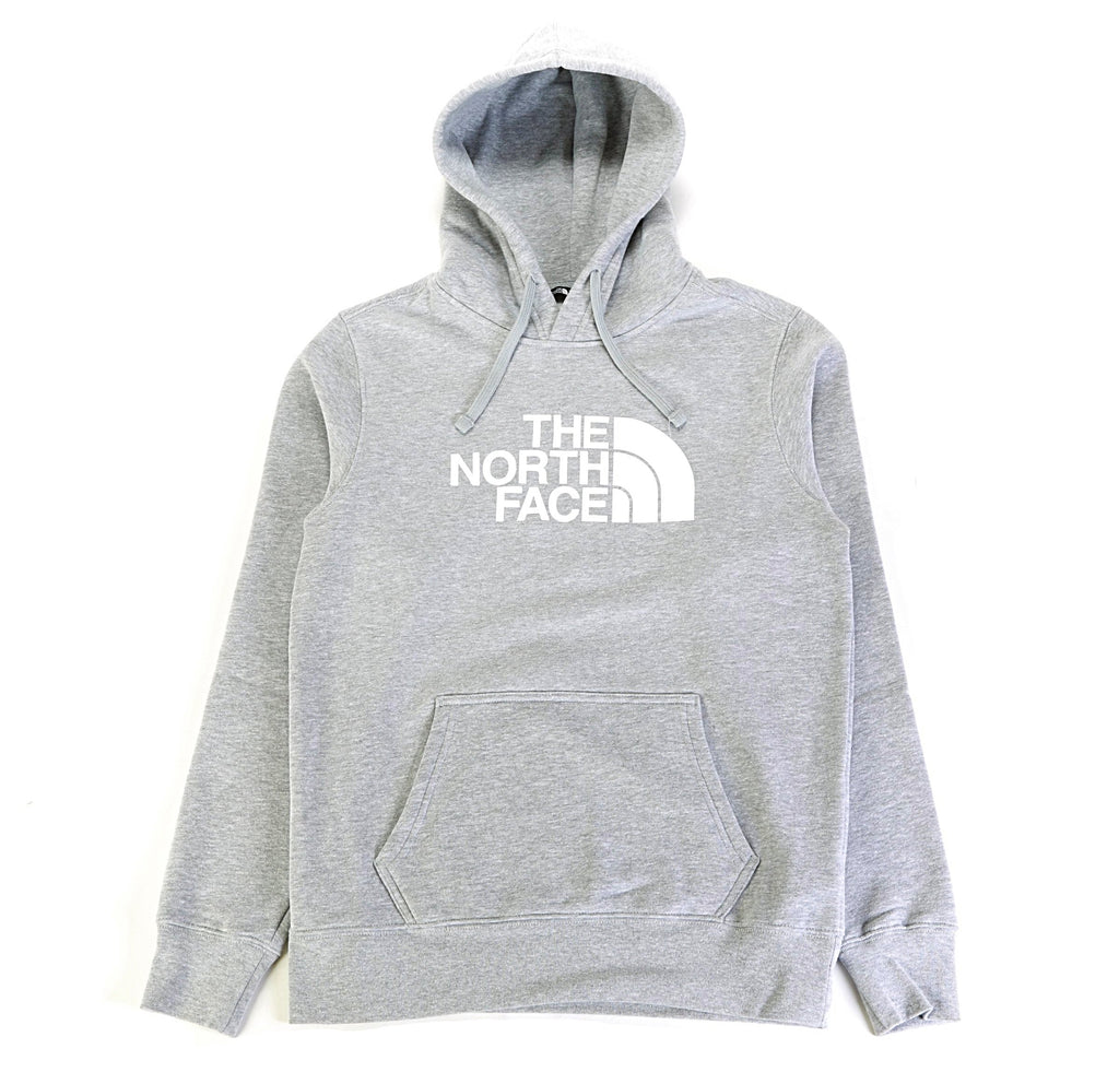 Half Dome PO Hoodie - Light Grey Heather/White
