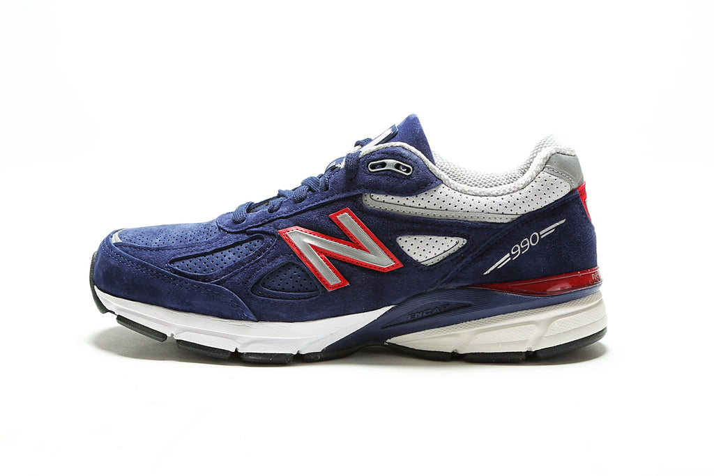 990v4 Running (D) - Blue/Red