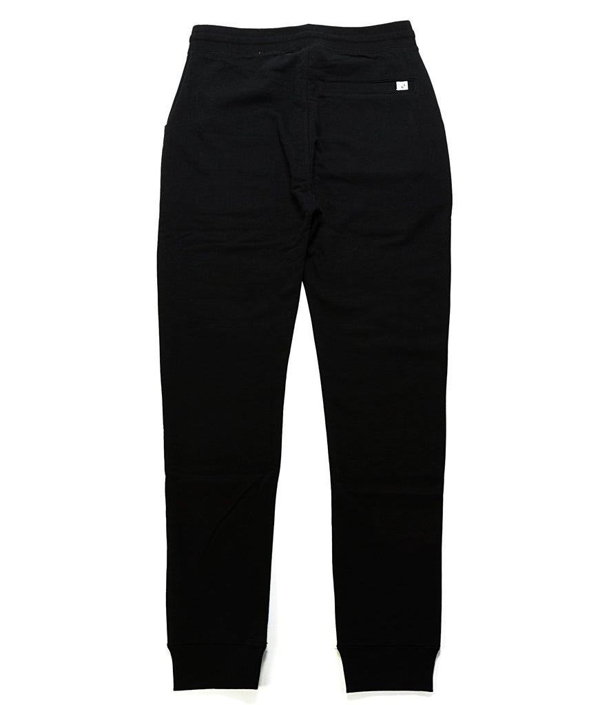 Split Sweatpant - Black