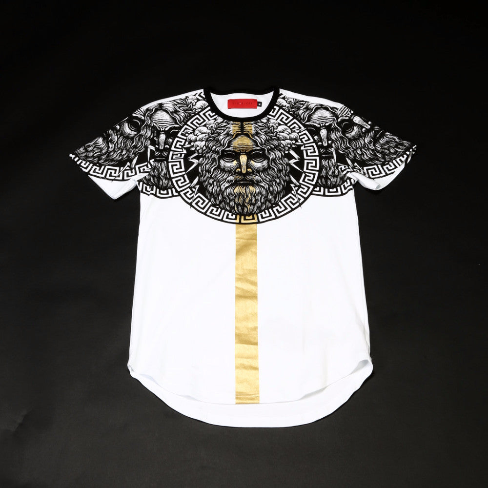 Godly Coin Tee - White
