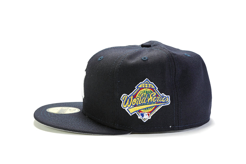 cd828f19410 New York Yankees Fitted - (1996 World Series) Navy White – PRIME