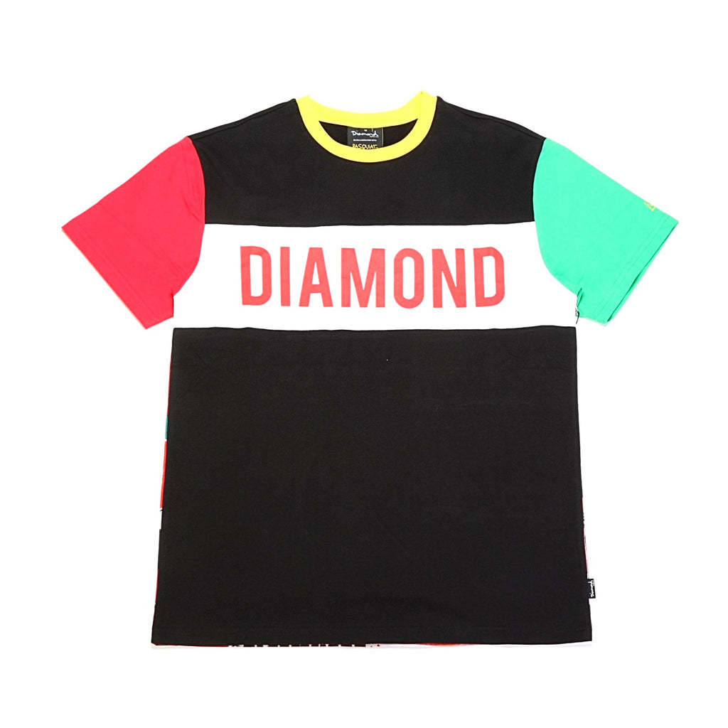 Crown S/S Tee - (Basquiat) Multi