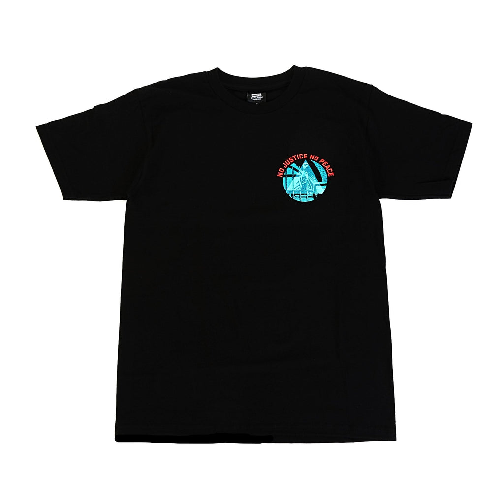 No Justice No Peace Tee - Black