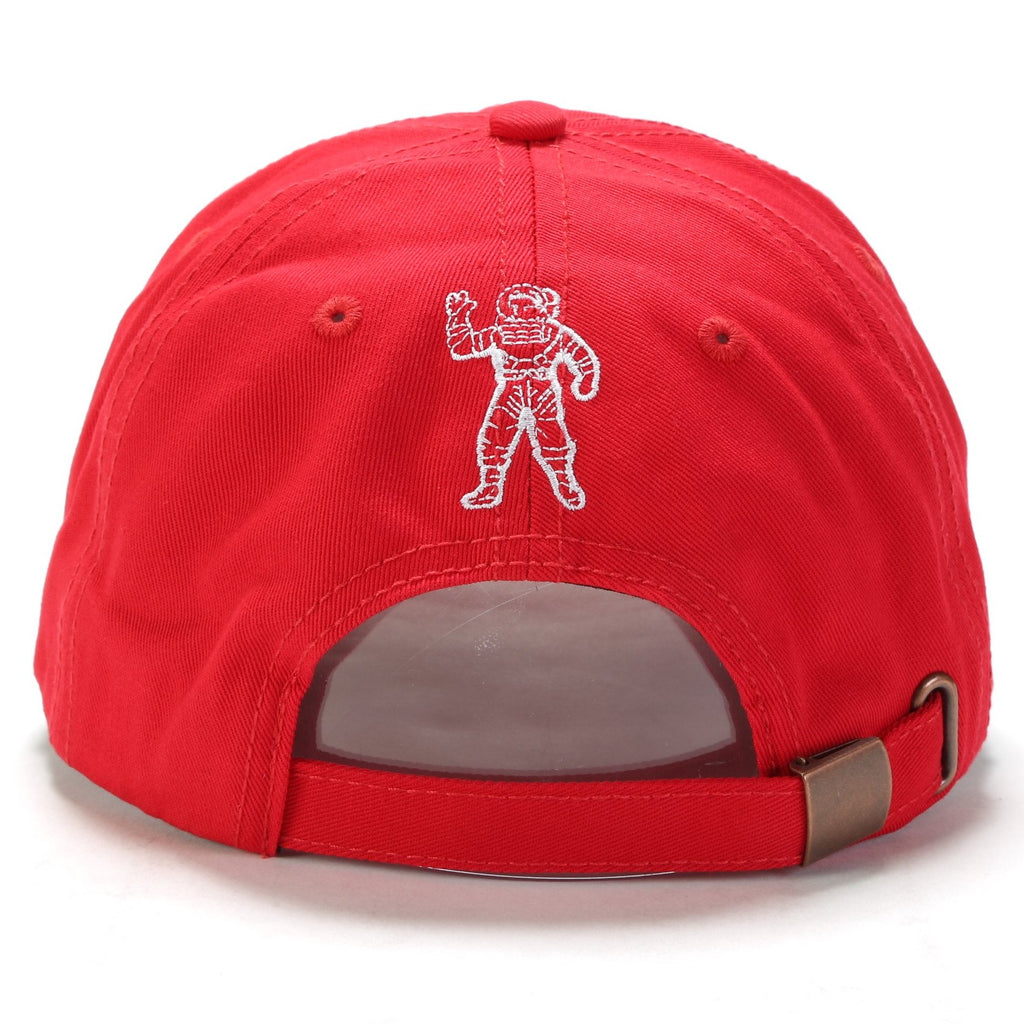 BB Arch Classic Strapback Hat - Chinese Red
