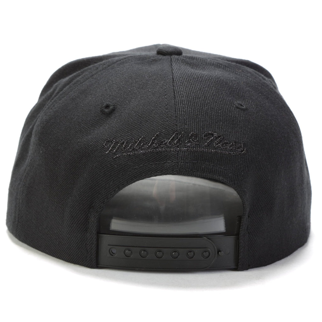 Black Camo Snapback - (Chicago Bulls) Black