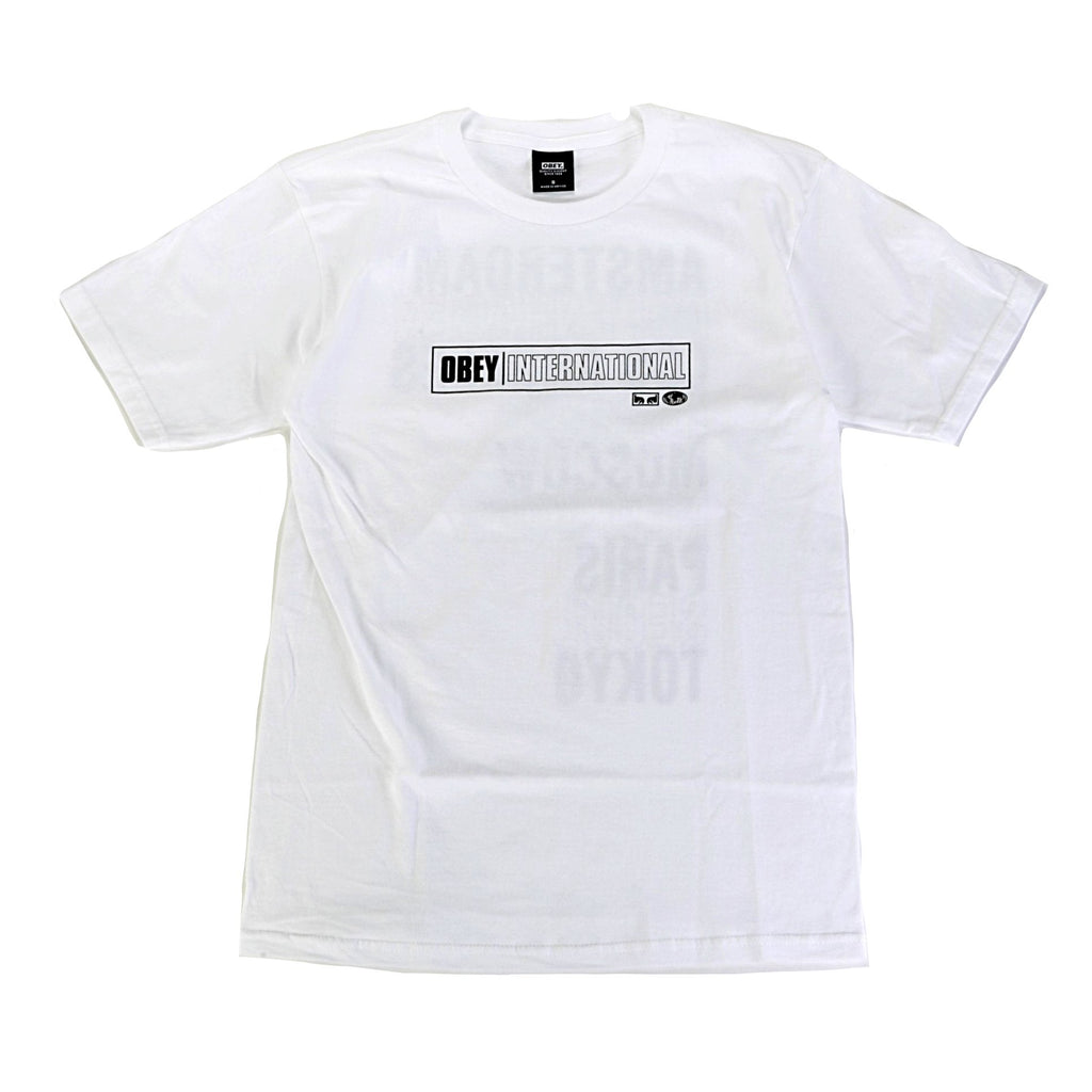 International Cities Tee - White