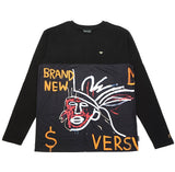 Cowboys and Indians L/S Tee - (Basquiat) Black