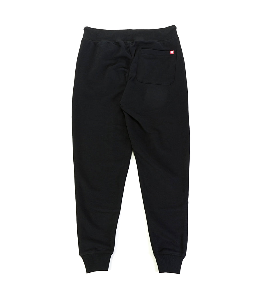 Essentials Stacked Logo Jogger - Black