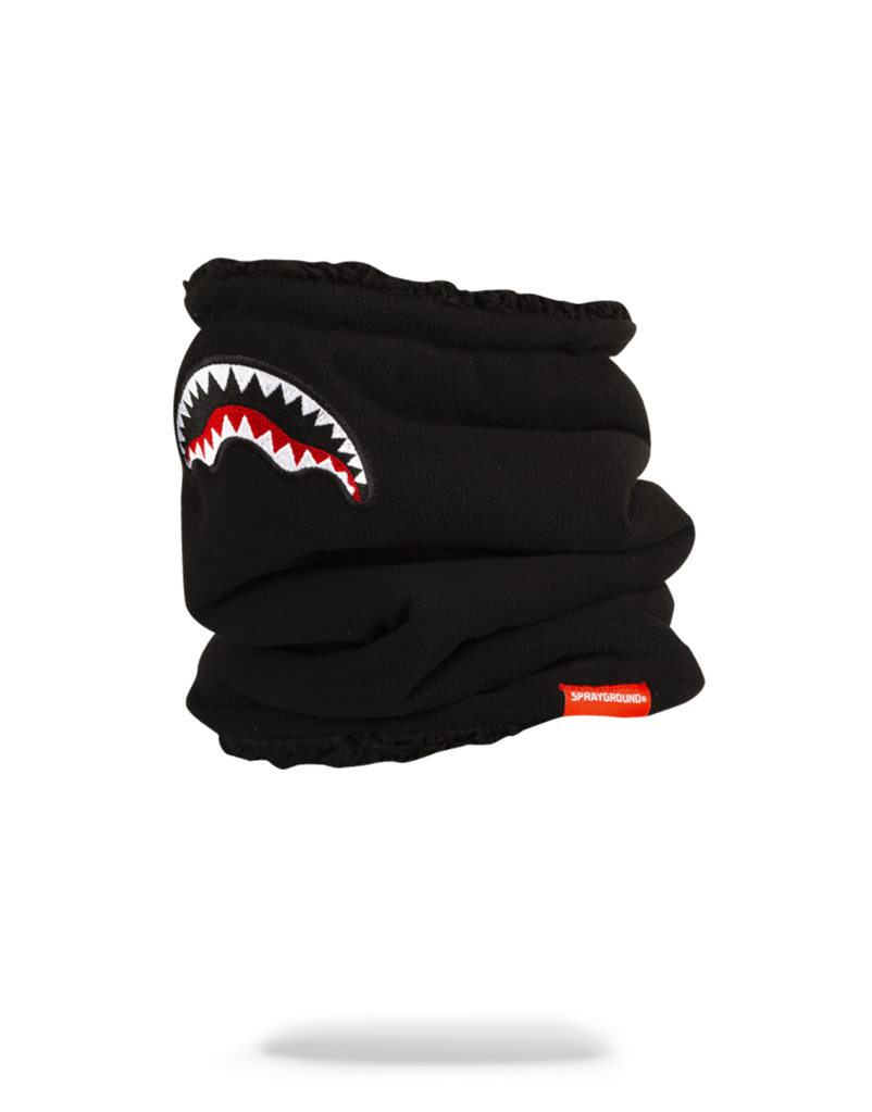 Shark Neck Warmer - Black