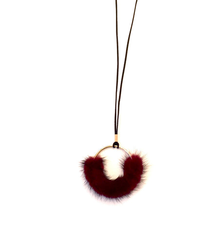 YOU MAY ALSO LIKE: Faux Fur Necklace- Bordeaux