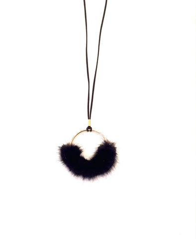 YOU MAY ALSO LIKE: Faux Fur Necklace- Black