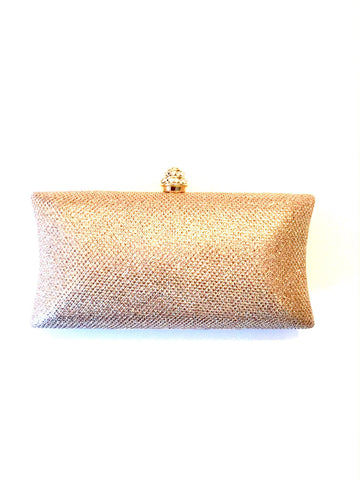 Evening Sparkle Clutch - Rose Gold