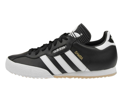Adidas Originals Samba Super Trainers - Black/Running White - Size UK 7-12