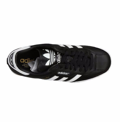 61bc2847b4f2be ... Adidas Originals Samba Super Trainers - Black Running White - Size UK  7-12 ...