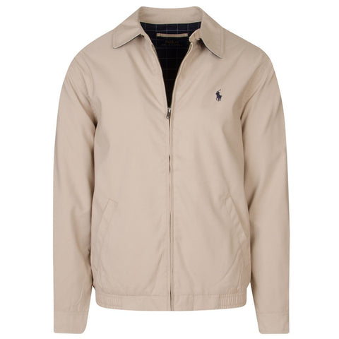 Ralph Lauren Men's 'POLO' Bi-Swing Windbreaker Jacket - Khaki