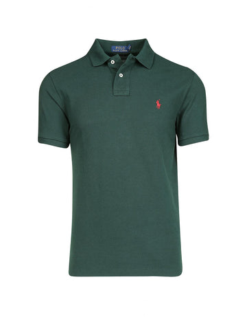 Ralph Lauren Men's Short Sleeved 'POLO' Shirt - Green