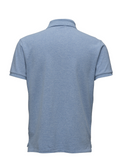 Ralph Lauren Men's Short Sleeved 'POLO' Shirt - Jamaica Heather