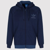 adidas 'Originals' SPO Trefoil Hooded Track Top - Navy