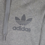 adidas 'Originals' SPO Trefoil Hooded Track Top - Grey