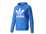 adidas 'Originals' Trefoil Hooded Sweatshirt - Royal Blue