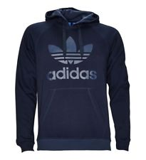 adidas 'Originals' Trefoil Hooded Sweatshirt - Navy