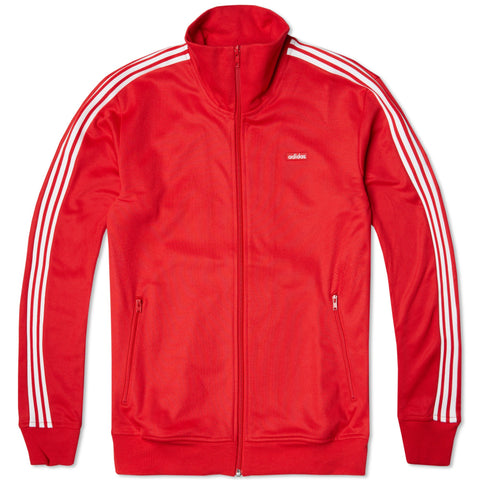 Adidas 'Originals' Men's Beckenbauer OG Track Top - Red/White - S-XL - AB7767