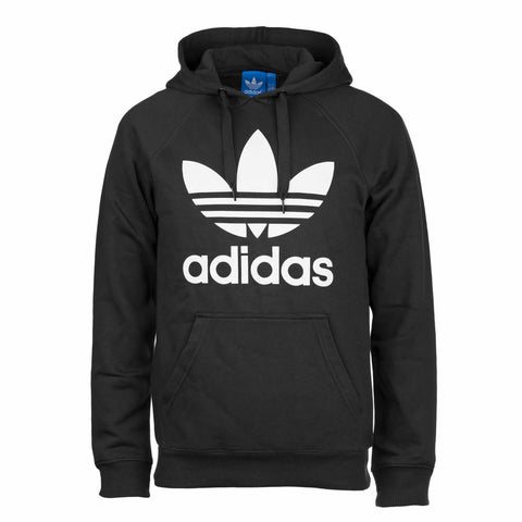 adidas 'Originals' Trefoil Hooded Sweatshirt - Black