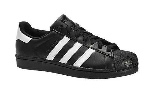 san francisco 8ad70 a11bd ... adidas  Originals  Superstar Foundation Trainers - Black and White ...