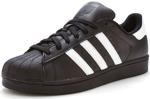 Adidas 'Originals' Superstar Foundation Trainers - Black/White - B27140 - Size UK 7-12