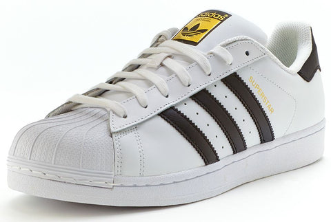 Adidas 'Originals' Superstar Trainers - White/Black - C77124 - Size UK 7-13