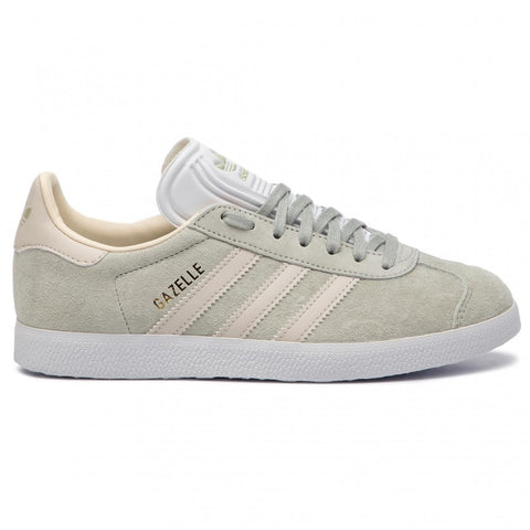 adidas Originals Gazelle W Trainers - Ash Silver/Clear Brown