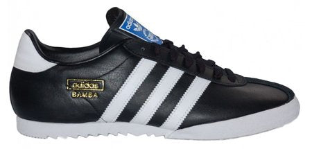 adidas Originals Bamba Trainers - Black/White