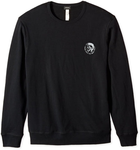 Diesel Men's UMLT Willy Crewneck Sweatshirt - Black