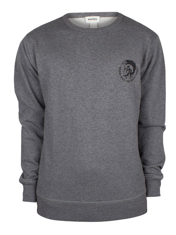 Diesel Men's UMLT Willy Crewneck Sweatshirt - Grey