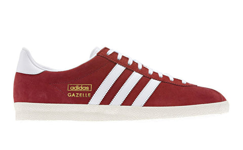 adidas Originals Gazelle OG Men's Trainers - Red and White